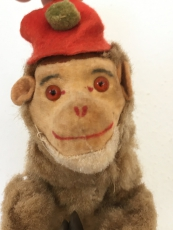 """Max Carl toy"" - Monkey with bells"