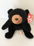 "Ty Beanie Baby Collection, Bear ""Blackie"" (1994)"