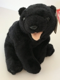 "Ty Beanie Baby Collection, Bear ""Cinders""  (2000)"