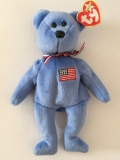 "Ty Beanie Baby Collection, Bear ""AMERICA"" (2001)"