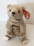 "Ty Beanie Baby Collection, Bear ""Almond"" (1999)"