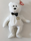 """Ty Beanie Baby Collection, Bear """"Mr."""" (2001)"""