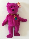 "Ty Beanie Baby Collection, Bear ""Millennium"" (1999)"