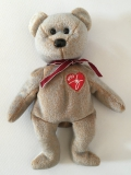 """Ty Beanie Baby Collection, Bear """"Signature"""" (1999)"""